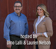 Hosted by: Dino Lalli and Lauren Nelson